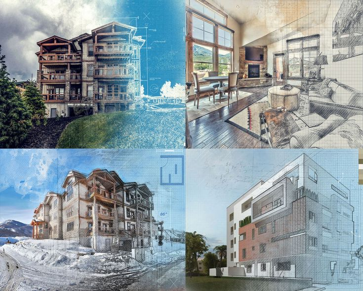 3 Stage Architectural Illustration #architectural drawing #architectural illustration