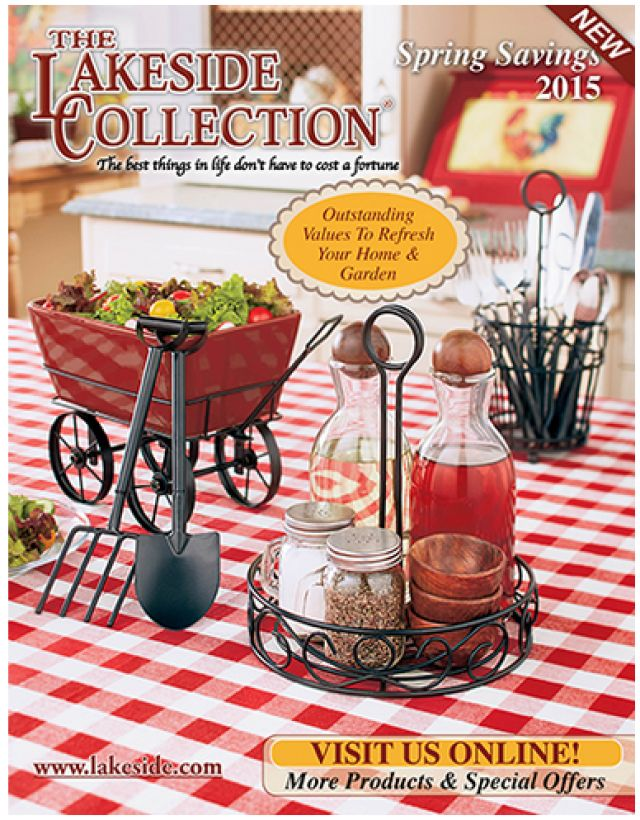 How to Get The Lakeside Collection Catalogs Free by Mail: A Free Catalog From The Lakeside Collection