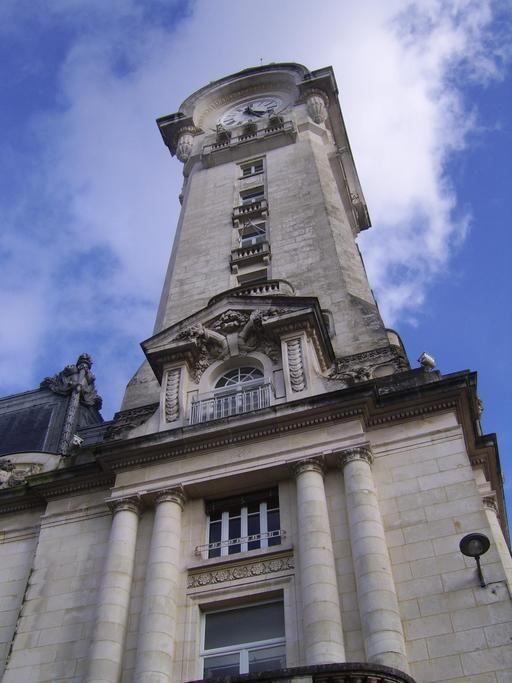 Campanile de la gare de Limoges, FRANCE
