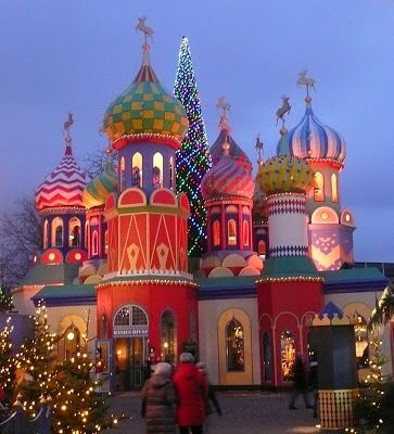 Tivoli Gardens, Copenhagen - Denmark, amusementpark...great at Christmas...:)