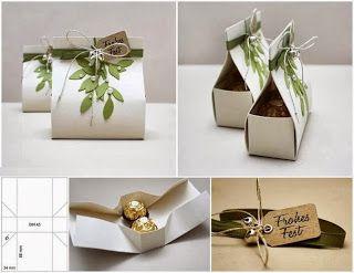 Semplicemente Chic: Albero di caramelle realizzato con cartone!