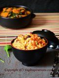 Oatmeal Upma made with steel cut oats.         |          Veg Inspirations