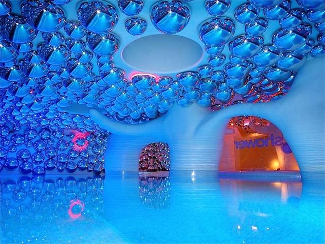 Boscolo Exedra Hotel Pool, Milan Italy