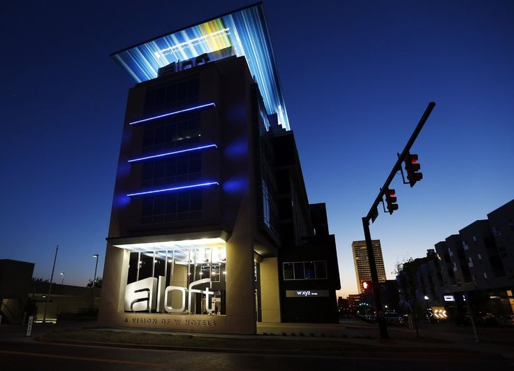 The Aloft Hotel At Ne 2 And Walnut Is Seen In Oklahoma City On April 14
