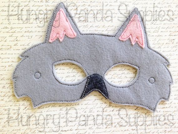 Stitch a costume to howl about with this Werewolf mask digital embroidery design!    You will receive two sizes of this design:    - 5x7