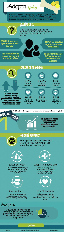 El abandono y la adopción de perros en nuestro país: algunos datos importantes.