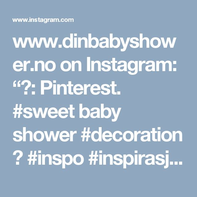 """www.dinbabyshower.no on Instagram: """"📷: Pinterest. #sweet baby shower #decoration 💙 #inspo #inspirasjon #pynt #dekorasjon #baby #detlilleekstra #dinbabyshower #nettbutikk…"""""""