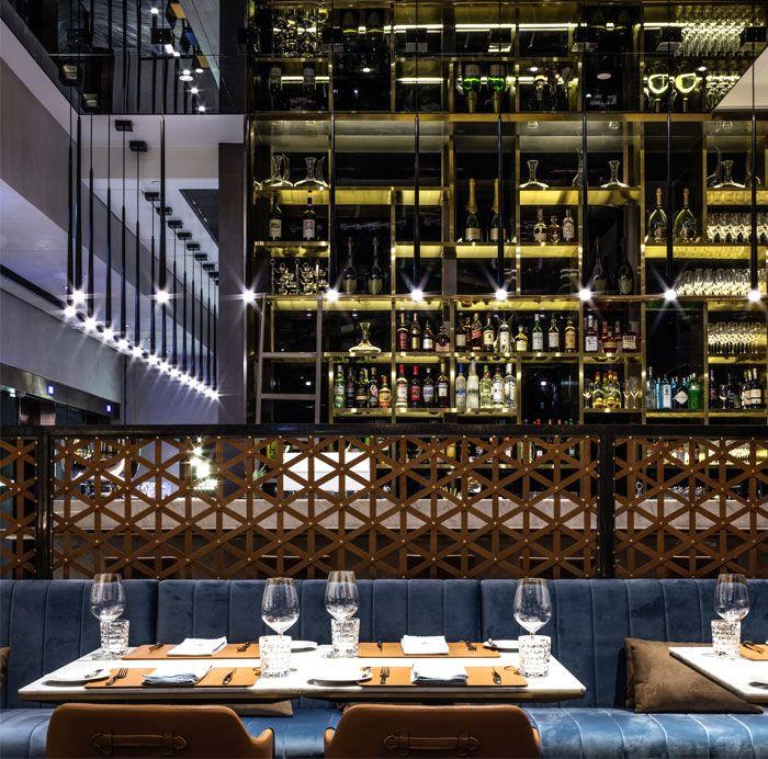 Eclectic urban hong kong restaurant by kokaistudios bar for Eclectic restaurant