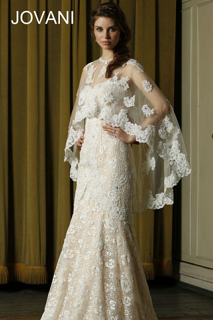 Jovani wedding dress nude jb74420 style 74420 available for Jovani mermaid wedding dresses
