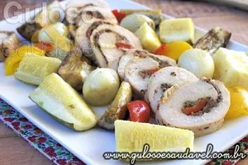 Quer uma dica de #almoço fácil e delicioso?  Este incrível Filé de Frango Recheado com Queijo é requintado e todos amam!    #Receita aqui: http://www.gulosoesaudavel.com.br/2014/05/14/file-frango-recheado-queijo/
