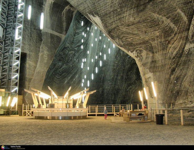 Turda salt mine Romania photos pictures