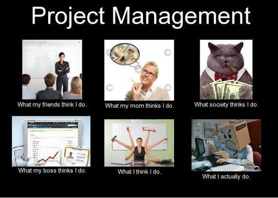 Friday funny societies view of project management humor for Project planning quotes