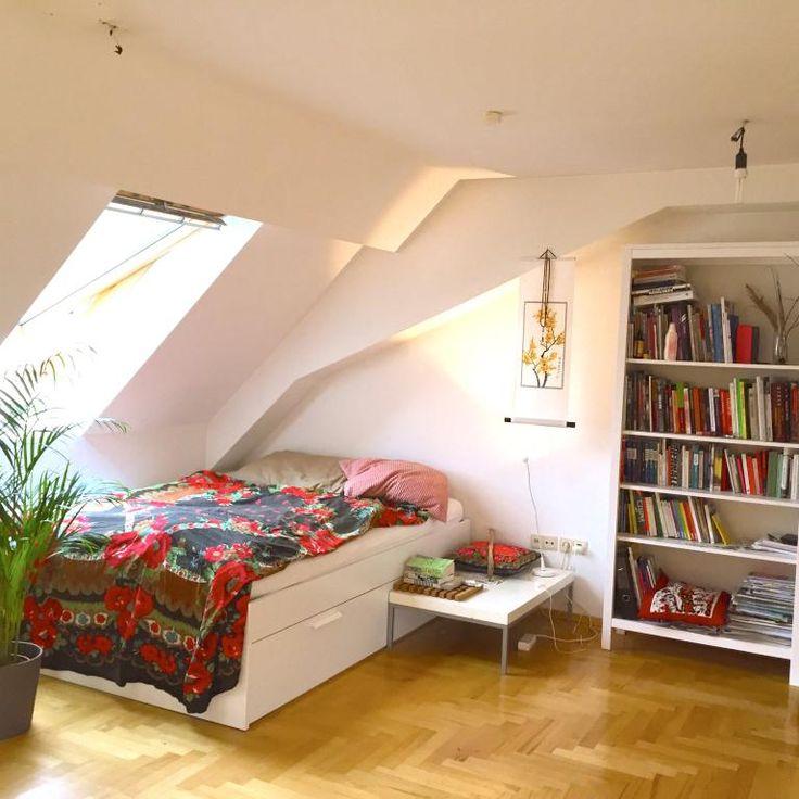 Die besten 25+ Bücherregal Bett Ideen auf Pinterest Bettfuß - kleines schlafzimmer gemütlich gestalten