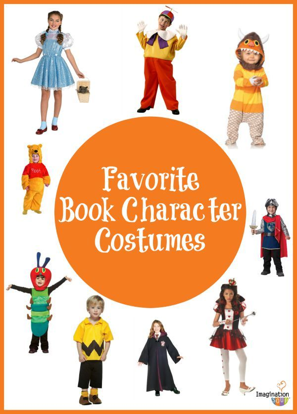 Favorite Book Costumes For Kids Halloween Reading Activities