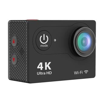 ซื้อเลย  H9 Ultra-HD 4K Action Camera 2-inch LCD Wifi Sports CamCamcorder(Black) - intl  ราคาเพียง  3,630 บาท  เท่านั้น คุณสมบัติ มีดังนี้ 3 Month Local Supplier Warranty Adopting Sunplus 6330M OV4689 chipset 2 inches LCD screen display, 320 x 240 pixel resolution Comes with a waterproof case, up to 30m waterproof Video resolution: 4K at 10fps, 2.7K at 15fps, 1080p at 60 /30fps, 720p at 120 / 60fps 6G HD 170° degree wide angle lens Built-in WiFi for full camera control, live preview…