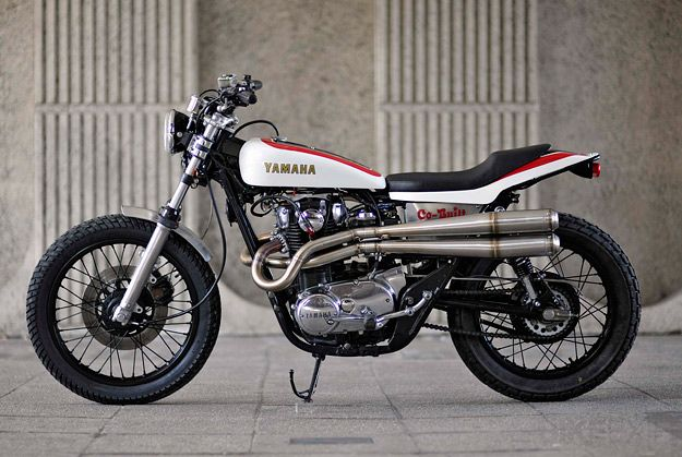 yamaha xs650 | ... streets of london and chose a stock 1978 yamaha xs650 as his starting