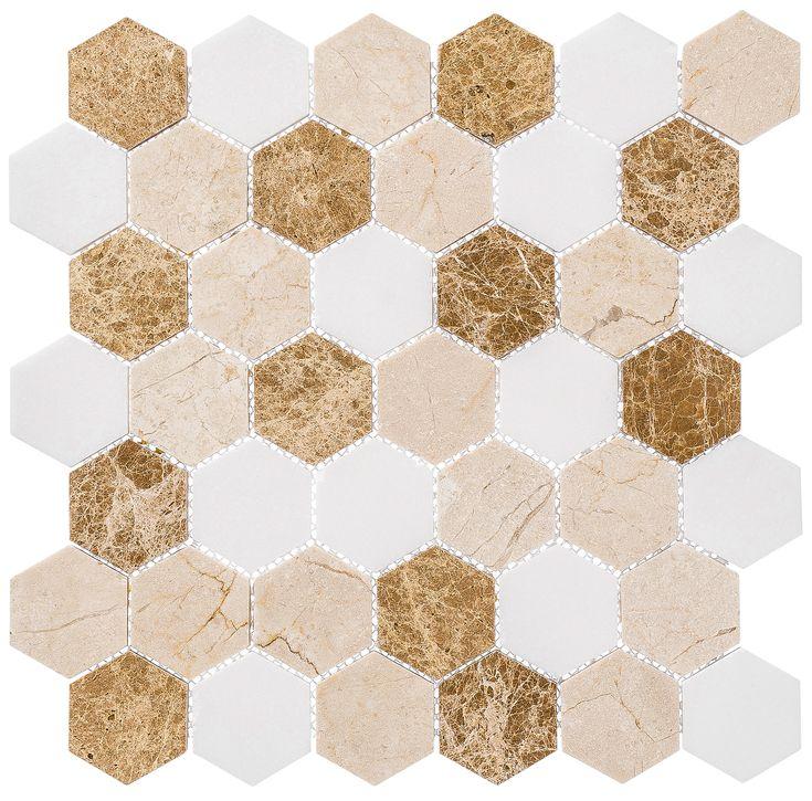 Providence Pier Stone Mosaic Tile Natural Stone Tile