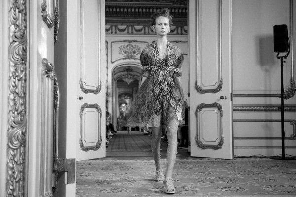 Simone Rocha fashion show 2016 S/S