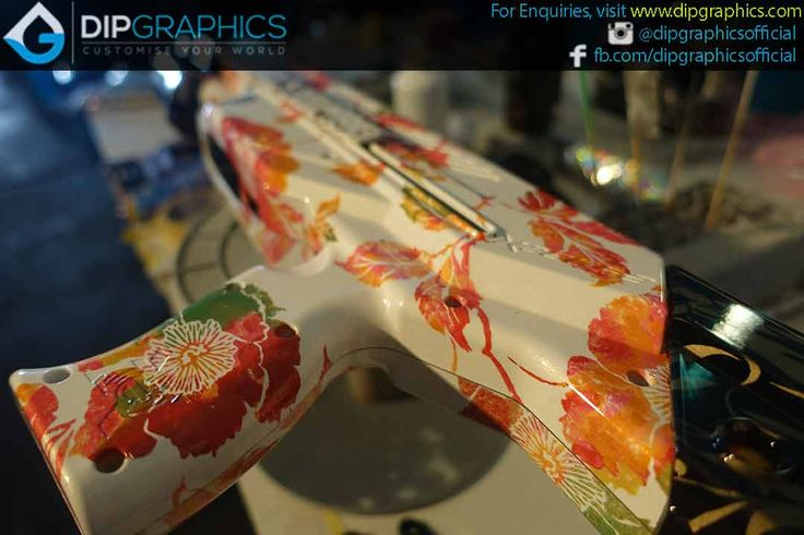 Hydro-Dipped-Zeus-2-Nerf-Blaster-in-Floral-Pattern---8