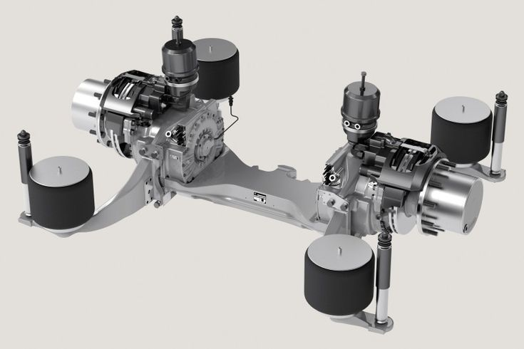 Electric Drive for Buses - ZF Friedrichshafen AG