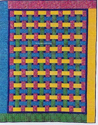 Basketweave Quilt Pattern Pieced JN Placemat Patterns Patterns Amazing Basket Weave Quilt Pattern