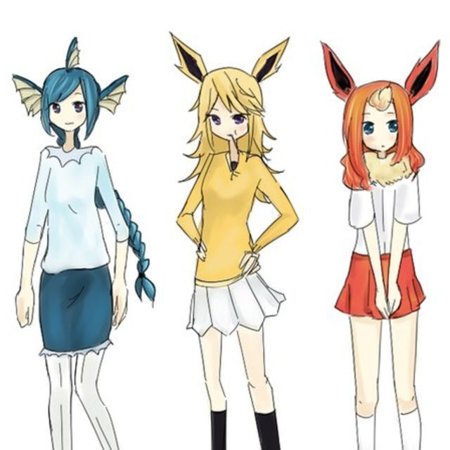 This is the best drawing of human eevees I have seen so far