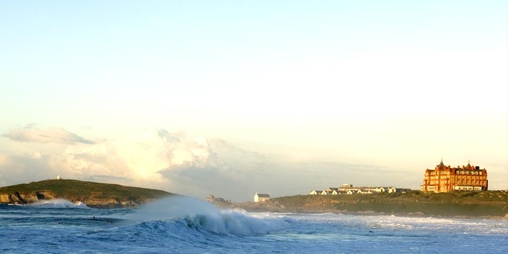 NEWQUAY, ENGLAND - What a fun little surfing village in Cornwall.  Gorgeous views!