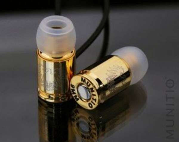 Gold casing earphones!