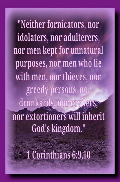 Bible Verses On Premarital Sex
