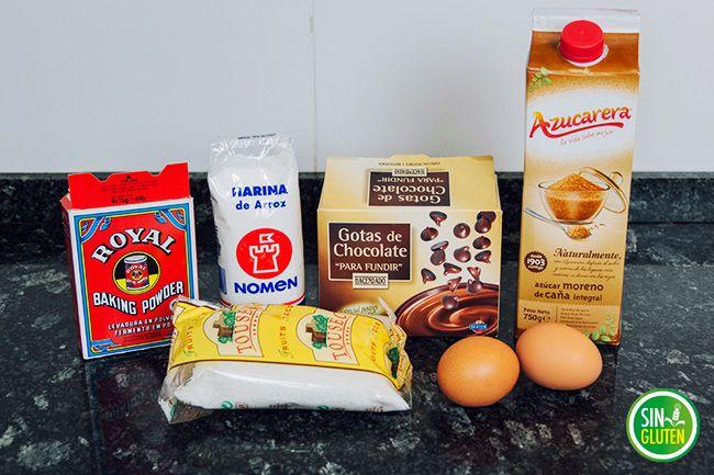 Galletas de coco y chocolate (SIN GLUTEN)