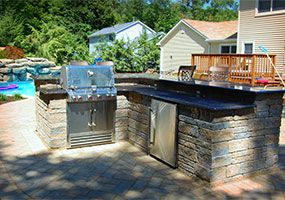 Outdoor Kitchen, New Jersey Landscaping, Green Meadows Landscaping, Inc.