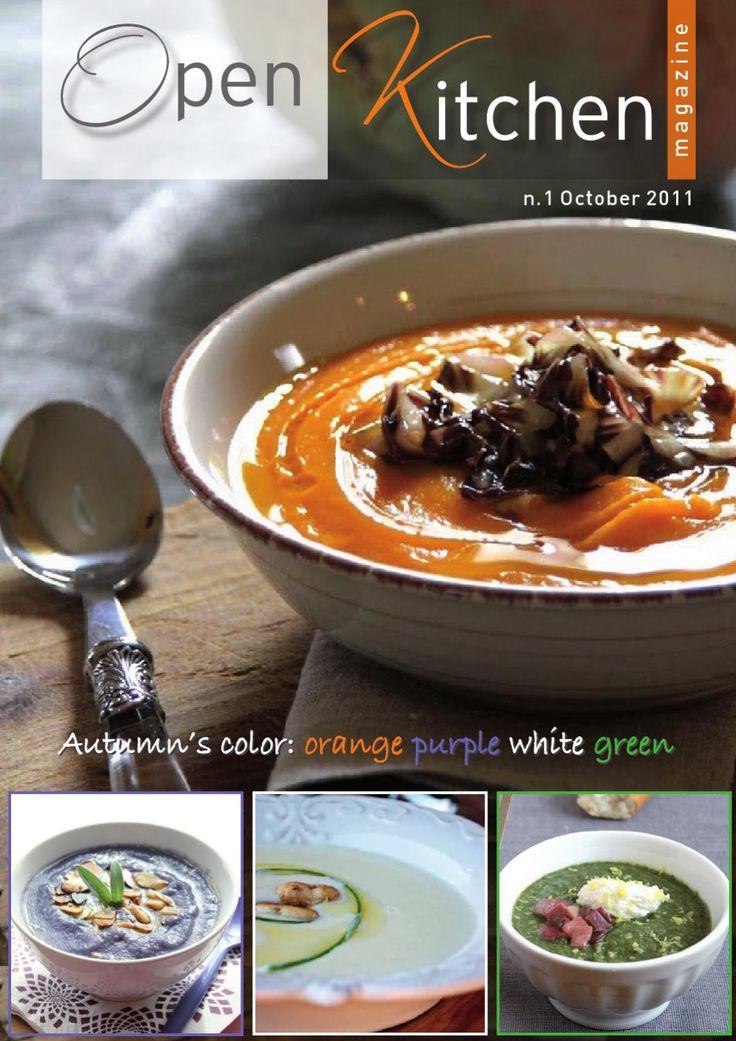 Open Kitchen Magazine - n°1 - October 2011- English version  Open Kitchen Magazine - n°1- October 2011 Kitchen web magazine