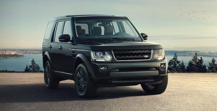 Land Rover traz edição limitada Discovery Black