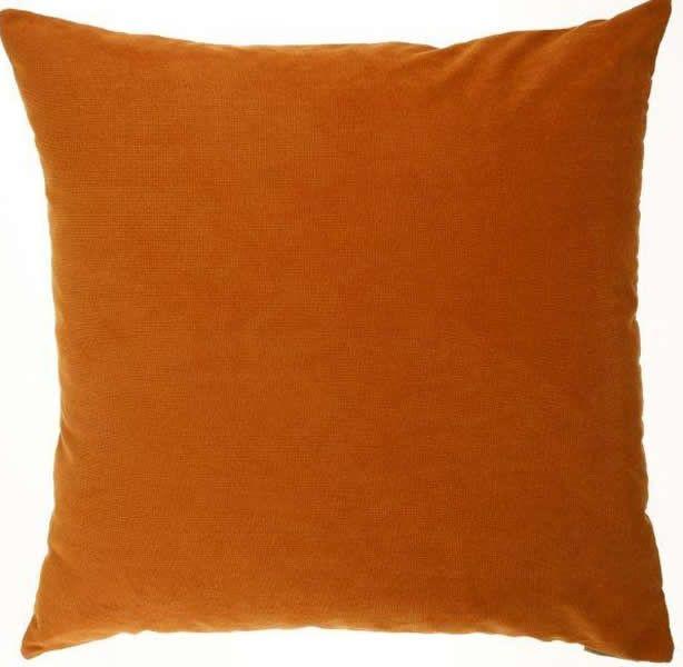 Hummer - Orange Throw Pillow