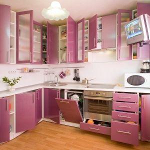 Фиолетово-розовая