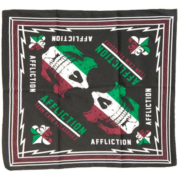 Cain Velasquez Affliction Bandana - Black - $4.99