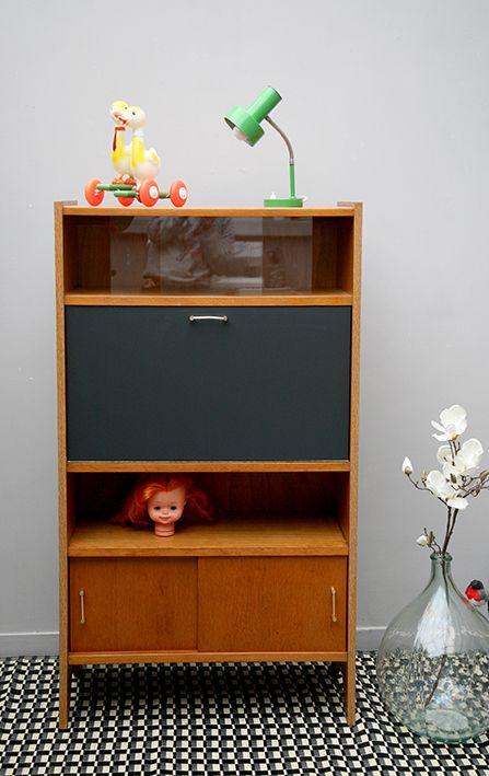 17 best images about meubles vintage on pinterest mid for Meuble bureau waterloo