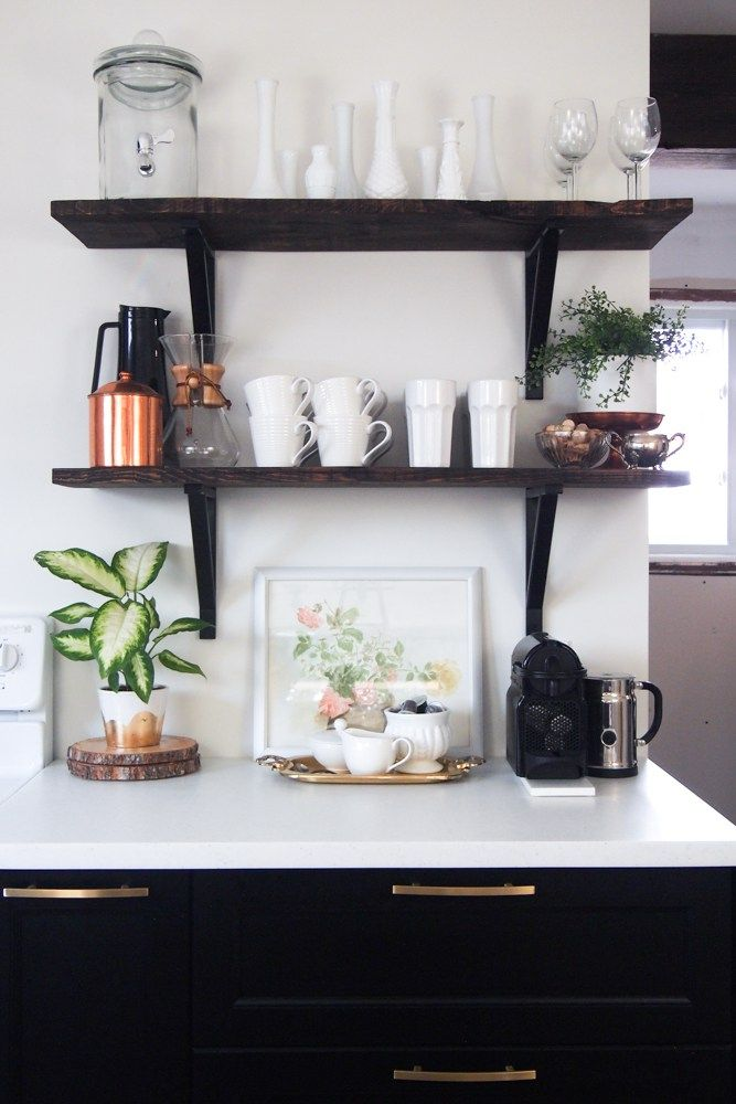 2017 Spring Home Tour: 92 Best Images About Floating Shelves On Pinterest