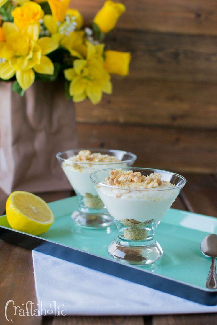 Δροσερή κρέμα με λεμόνι και μπισκότο, πανεύκολη και πεντανόστιμη