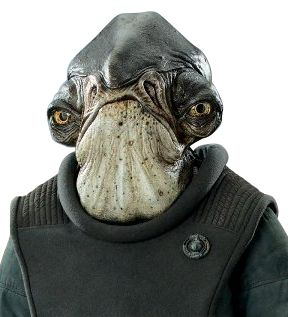 Admiral Raddus from Star Wars Rogue One