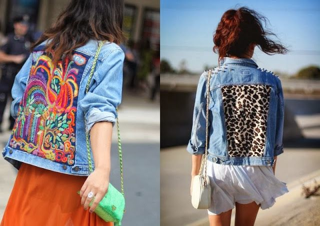 Refashion your denim jacket
