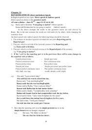 Image result for english grammar rules reported