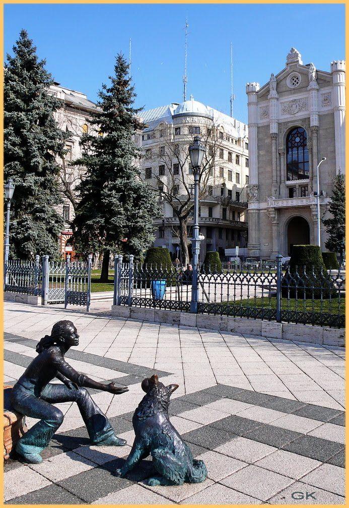 Vigado Square (Vigado ter), Budapest
