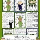 Celebrate Veteran's Day/ Día De Los Veteranos with this cute independent center {Spanish and English version}.  Students roll 1,2 or 3 dice, add th...