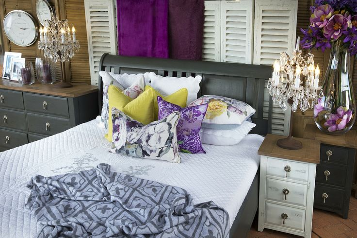 Exclusive to Trilogy - rustic citadel grey king size sleigh bed
