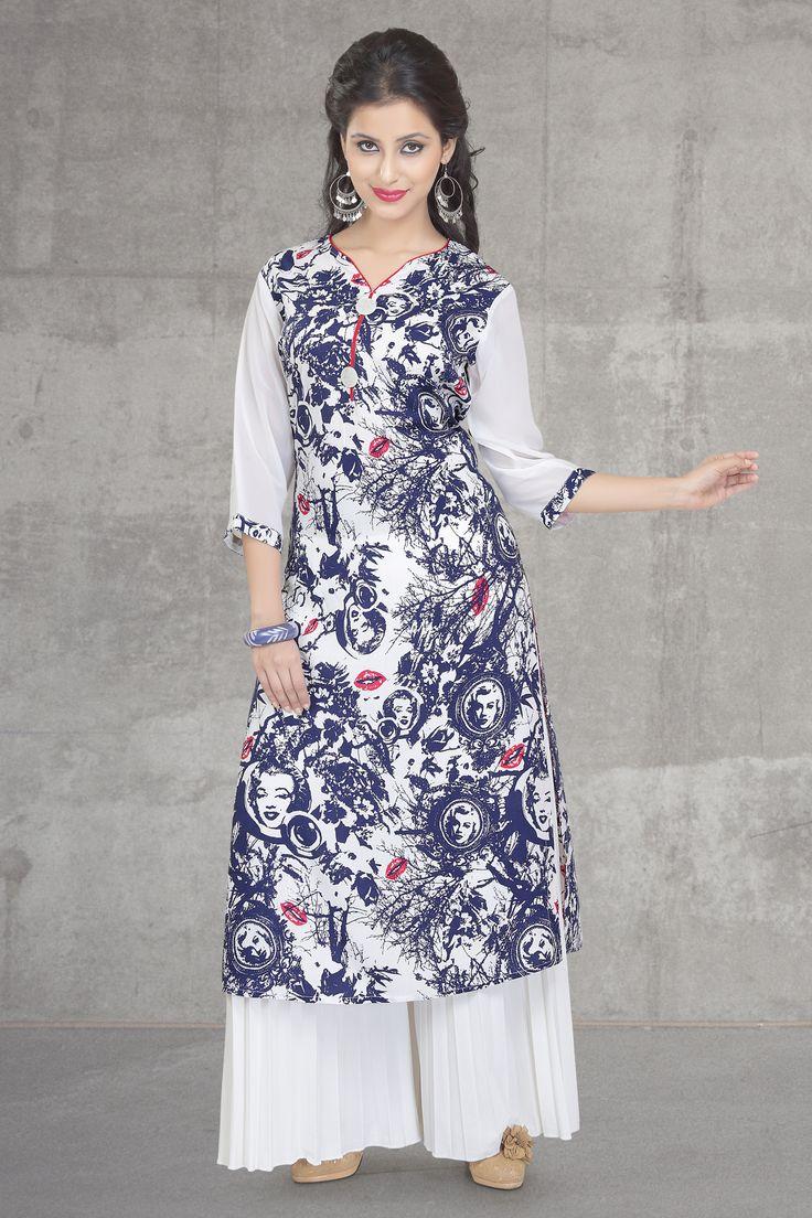#Dezino #Summercollection2015 #Kurties #Indianwear #Pakistanistyle #Styleyourself #Casual #Trend.