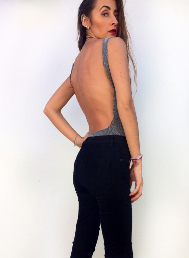 Bodysuit Backless Bodysuit outfits Braless