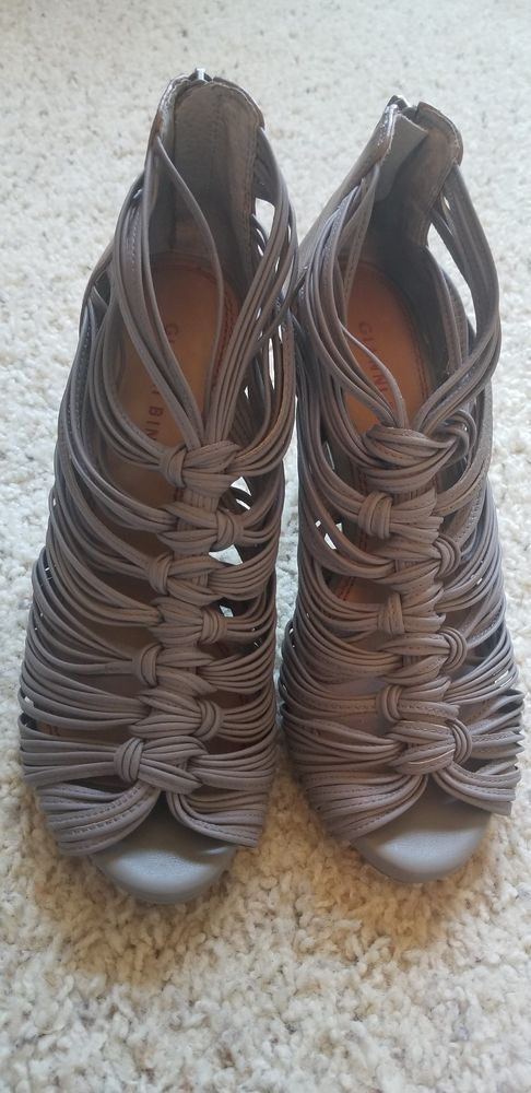 de480de7aea NEW Gianni Bini Womens Grey Heels Shoes sz mm 8 M #fashion #clothing ...