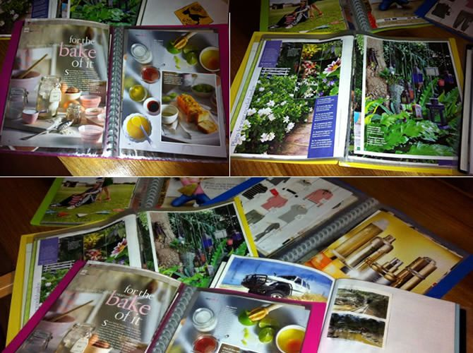 Recycled Magazine Scrapbooks | Dementia | Activities for dementia
