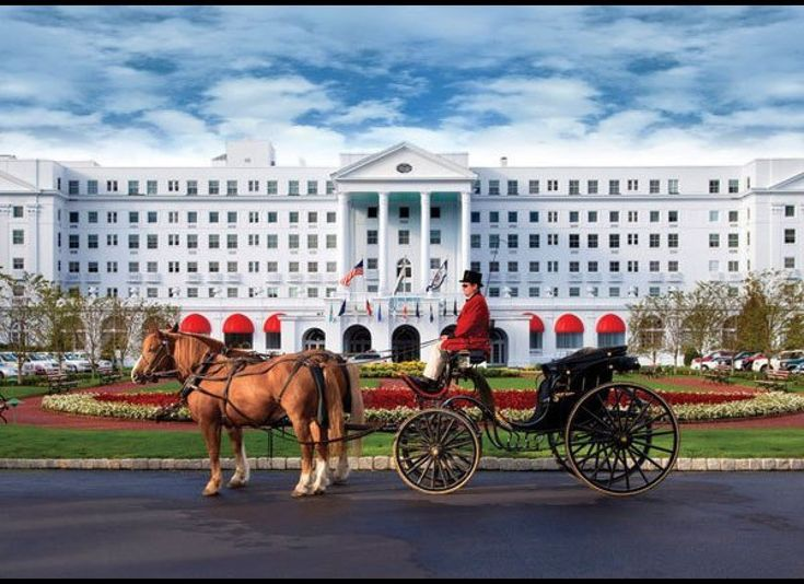 The Greenbrier Hotel is considered one of the 6 'Grandest' in America, says Huffington Post.